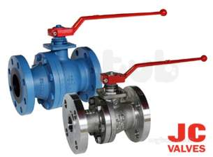 Jc Ball Valves -  Jc 515ait Cs 150 Fb Ball Valve L/op 150