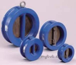 Dual Plate Check Valves -  Wras Dual Plate Wafer Check Valve 100mm