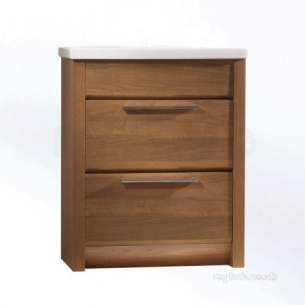 Roper Rhodes Furniture -  Kato Ka700aw 700mm Washstand Walnut