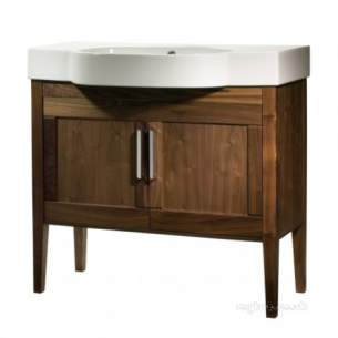 Roper Rhodes Furniture -  Karma 900 Floor Unit With Doors-walnut