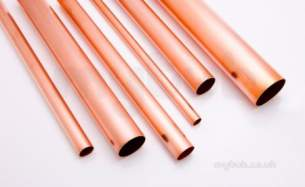 Lawton Tube -  54mm X Degreased Copper Tube Per Metre