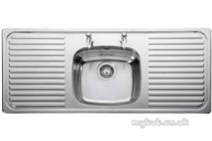 Rangemaster Sinks -  Linear Lr1160/ 1160 X 508 2th Sbdd Ss