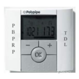 Polypipe Terrain Underfloor Heating -  Polypipe Programmable Room Thermostat Tfh.stat.1