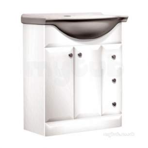 Roper Rhodes Furniture -  Mirage Mrb7w 700 Base Unit-white