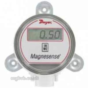 Dwyer Instruments Magnehelic Gauges -  Dwyer Ms-121 Pressure Transmitter