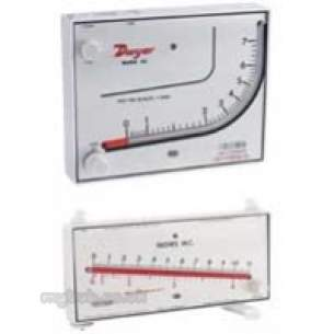 Dwyer Instruments Magnehelic Gauges -  Dwy Mm80 Plastic Manometer 1.0-80mm Wg