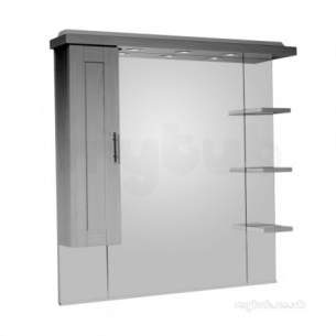 Roper Rhodes Accessories -  New England 1000mm Mirror And Shelves And Ca
