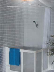 Neaco Shower Trays -  Neatdek 3 Plus 1186x821 Grille And Frame