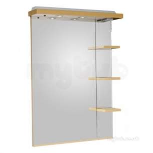 Roper Rhodes Accessories -  New England 700mm Mirror And Shelves And Can