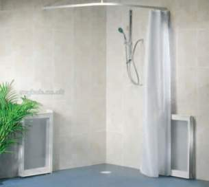 Neaco Shower Trays -  Neatform Plus Pack 1000mm X 1000mm