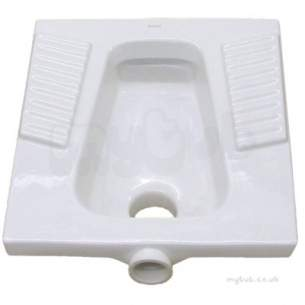 Twyfords Commercial Sanitaryware -  Twyford Loose P Trap Vc4522wh