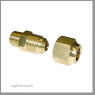 Regin Products -  Regin Flared 10mm Union X 1/4bspt 1 Nut