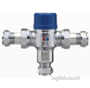 Pegler Thermostatic Mixing Valves -  22mm P402 Thermostatic Mixing Valve Tmv3