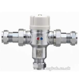 Pegler Thermostatic Mixing Valves -  22mm P404 Thermostatic Mixing Valve Tmv2