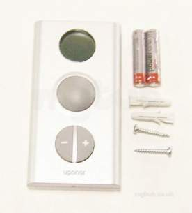 Uponor Underfloor Heating -  Ucs Radio T-75 Thermostat Silver