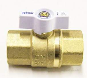 Uponor Underfloor Heating -  Uponor Wgf Mfld Valve Str 1 Inch Ft X 1 Inch Ft