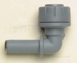 Underfloor Heating Manifolds and Ancillaries -  22mm Polyplumb Spigot Elbow 10 Pb1022