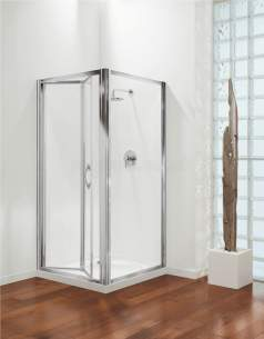 Coram Premier Shower Enclosures -  Premier 900mm Bifold Door Sl/cl/pl Door Only