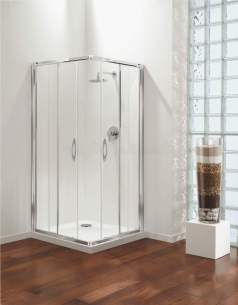 Coram Premier Shower Enclosures -  Premier 730/780 C/entry 2-box Sl/cl/st