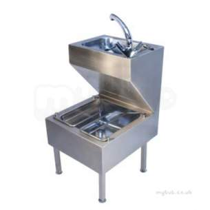 Twyford Stainless Steel -  Janitorial Unit Htm64-ju Ps8801ss