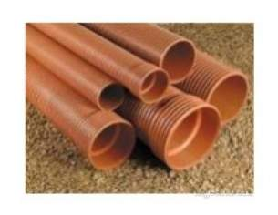Polypipe Polysewer -  300mm X 6m P/e Polysewer Pipe Ps1260
