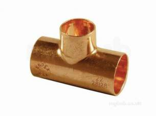 Yorkshire Endex End Feed Fittings -  Endex N25 54mm X 54mm X 28mm Red Tee