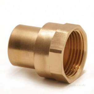 Yorkshire Endex End Feed Fittings -  Endex N7 15mm X 1/2 Inch Female Adaptor
