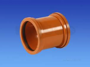 Hepworth Plastidrain -  Hepworth Building 110mm Pvc Coupling 4p02b