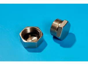 Hep2O Pipe and Fittings -  Hepworth Manifold End Cap 3/4ibsp Male