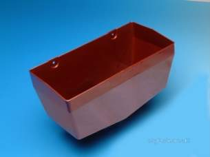 Hepworth Soil and Rainwater -  4.5 Inch Rainwater Hopper Sg19-b