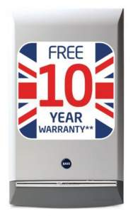 Baxi Domestic Gas Boilers -  Baxi Platinum 33 He Cond Combi Boiler Ng