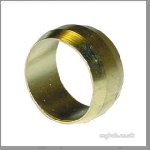 Regin Products -  Regin Regq129 10mm Brass Olives 5