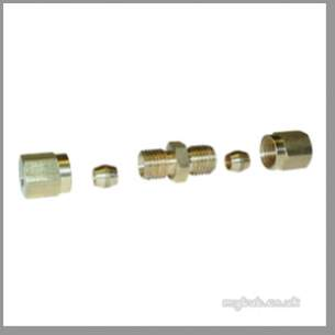 Regin Products -  Regin Regq139 4mm Equal Compress Fitting