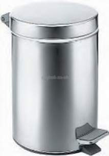 Croydex Bathroom Accessories -  Grand Hotel Qa015241 3 Litre Pedal Bin
