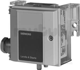 Landis and Staefa Hvac -  Siemens Qbm65-1 Air Difference Pressure Sensor 0..100pa