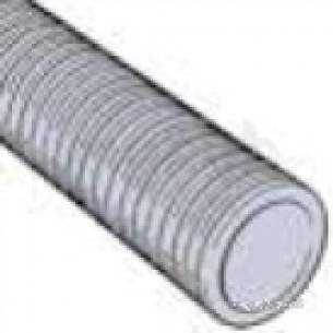 Twinwall Drain Pipe -  300mm X 6m Ridgidrain Plain End Rd300x6pe/1