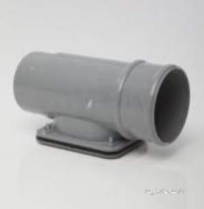 Polypipe Standard sovereign Rainwater -  Polypipe 68mm Rw Access Pipe Rr135-br
