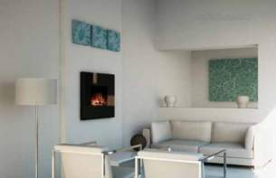 Dimplex Electric Fires -  Dimplex Rvo20 Ravello Wall Hung Fire