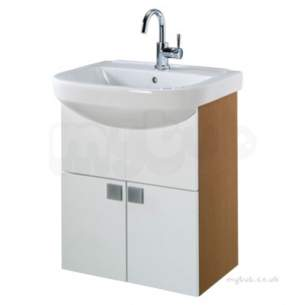 Twyford Galerie Plan Furniture -  Refresh Square Basin/furniture Set 750x 500 1 Tap Rs0309wh