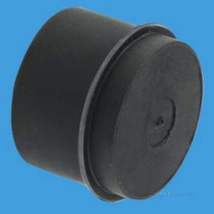 Mcalpine Waste traps overflow -  2 Inch Rubber Blanking Off Cap Z23mr