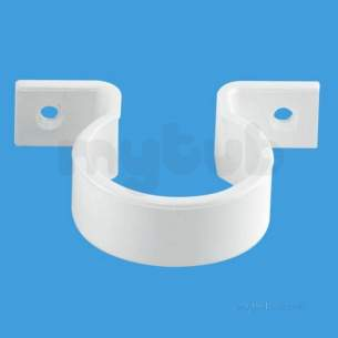 Mcalpine Waste traps overflow -  Mcalpine 15 Inch Waste Pipe Clip T30