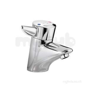 Armitage Shanks Nuastyle Thermo Lvr Basin Mixer Pillar Cp