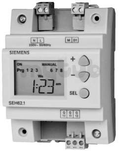 Landis and Staefa Hvac -  Siemens Seh 62 1 1 Channel 7 Day Timeswitch