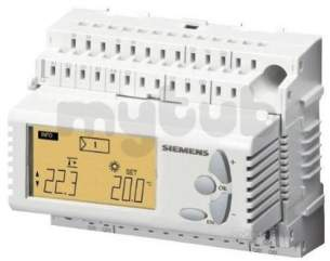 Landis and Staefa Hvac -  Siemens Rlu 222 Controller 5 Inputs 4 Output