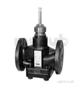 Landis and Staefa Hvac -  Siemens Vvf 52 25a 25mm 2port Flange Valve Kv-5.0