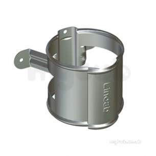 Lindab Rainwater -  Lindab Downpipe Bracket 120mm Coated