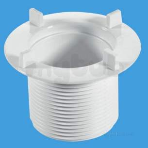 Mcalpine Waste traps overflow -  Mcalpine Long Locking Nut 70mm Stw70lnl