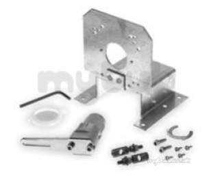 Landis and Staefa Hvac -  Siemens Ask 71 1 Duct Mtg Kit Gbb/gca/gib-1e