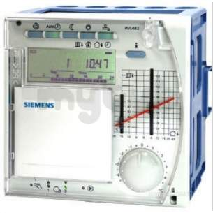 Landis and Staefa Hvac -  Siemens Rvl482 Heating Controller Plus Dhw