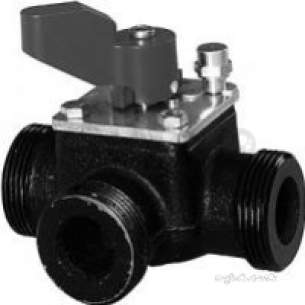 Landis and Staefa Hvac -  Siemens Vbg 31 40 40mm 3port Valve Kv-25